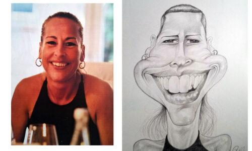 Karikaturbeispiel 2 / caricature example 2