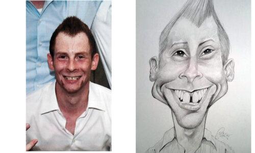 Karikaturbeispiel 4 / caricature example 4
