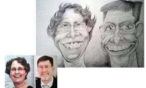 Karikaturbeispiel 5 / caricature example 5